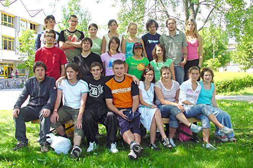 Maturanten der Klasse 5C HOB - Schuljahr 2004/05
