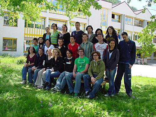 Maturanten der Klasse 5A HOB - Schuljahr 2005/06