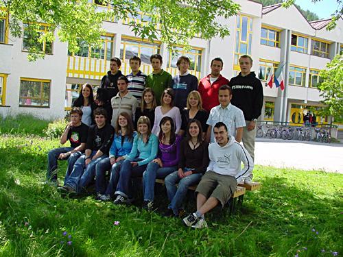 Maturanten der Klasse 5C HOB - Schuljahr 2005/06