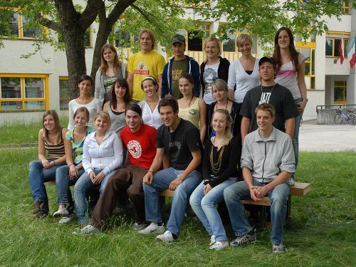 Maturanten der Klasse 5A HOB - Schuljahr 2006/07