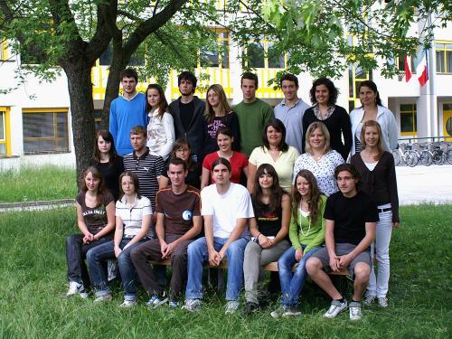 Maturanten der Klasse 5C HOB - Schuljahr 2006/07
