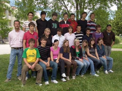 Maturanten der Klasse 5D PROG - Schuljahr 2006/07