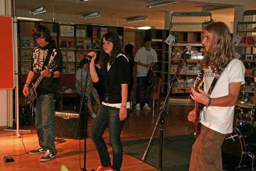 Abschlussfest des Mediotheksjahres 2008/09