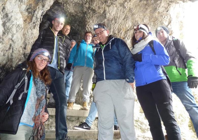 Eine Zeitreise in die Vergangenheit - Exkursion auf den Lagazuoi